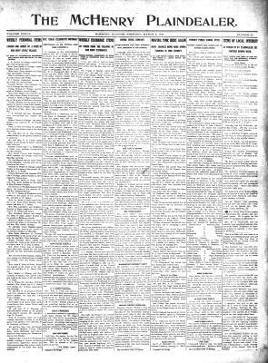 McHenry Plaindealer (McHenry, IL), 2 Mar 1911
