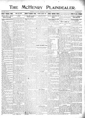 McHenry Plaindealer (McHenry, IL), 4 May 1911