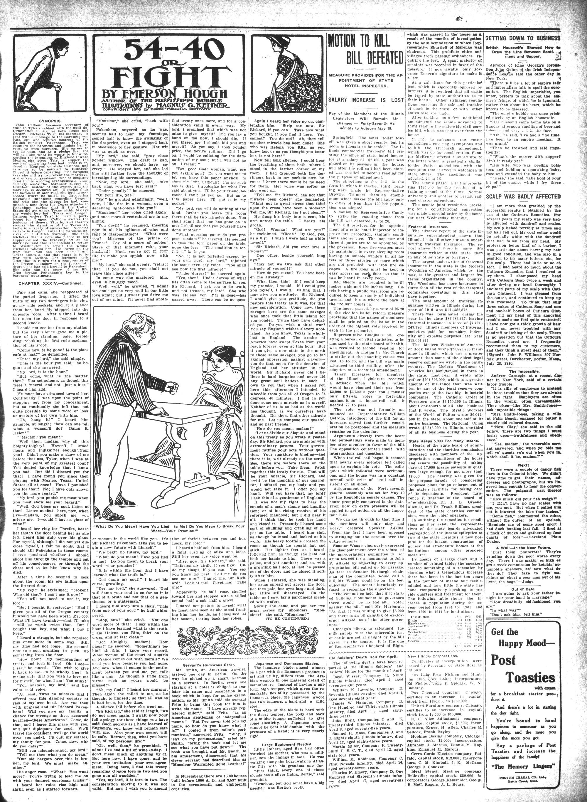 McHenry Plaindealer (McHenry, IL), 11 May 1911