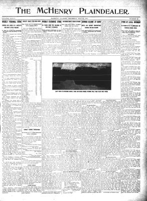 McHenry Plaindealer (McHenry, IL), 18 May 1911