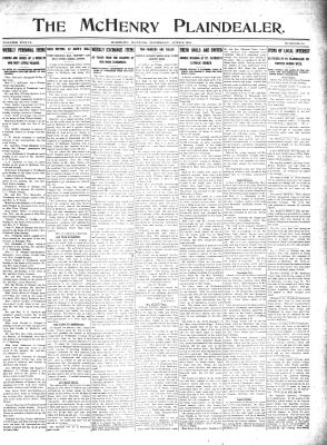 McHenry Plaindealer (McHenry, IL), 8 Jun 1911