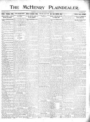 McHenry Plaindealer (McHenry, IL), 15 Jun 1911