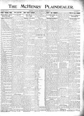 McHenry Plaindealer (McHenry, IL), 22 Jun 1911