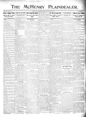McHenry Plaindealer (McHenry, IL), 20 Jul 1911