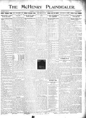 McHenry Plaindealer (McHenry, IL), 24 Aug 1911