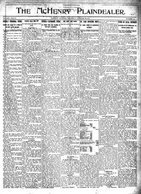 McHenry Plaindealer (McHenry, IL), 26 Oct 1911