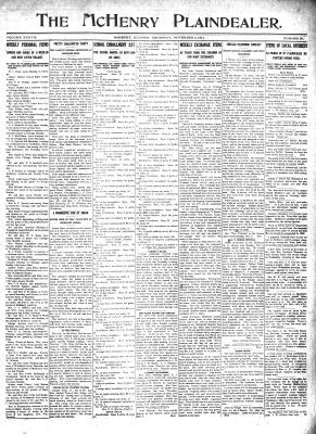 McHenry Plaindealer (McHenry, IL), 2 Nov 1911