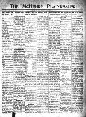 McHenry Plaindealer (McHenry, IL), 21 Dec 1911