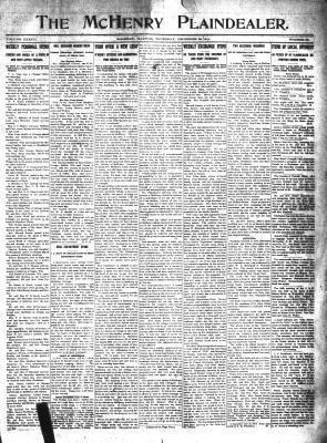 McHenry Plaindealer (McHenry, IL), 28 Dec 1911