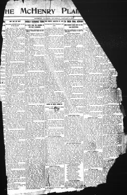 McHenry Plaindealer (McHenry, IL), 4 Jan 1912