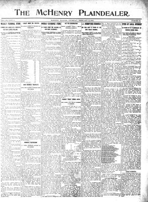 McHenry Plaindealer (McHenry, IL), 15 Feb 1912