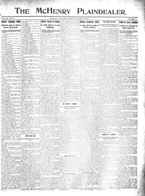 McHenry Plaindealer (McHenry, IL), 28 Mar 1912