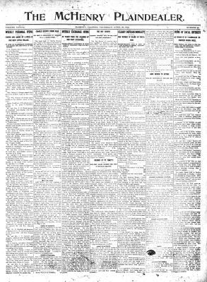 McHenry Plaindealer (McHenry, IL), 25 Apr 1912