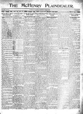 McHenry Plaindealer (McHenry, IL), 9 May 1912