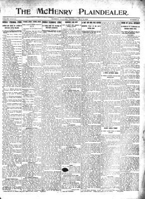 McHenry Plaindealer (McHenry, IL), 16 May 1912
