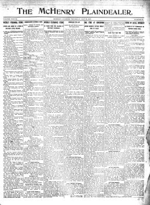 McHenry Plaindealer (McHenry, IL), 30 May 1912