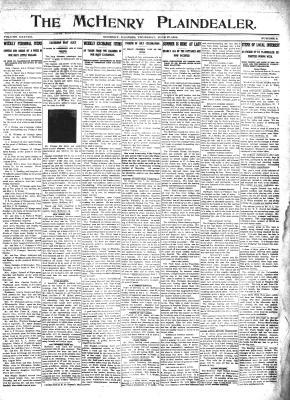 McHenry Plaindealer (McHenry, IL), 27 Jun 1912