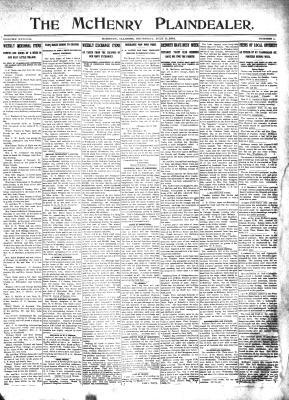 McHenry Plaindealer (McHenry, IL), 11 Jul 1912