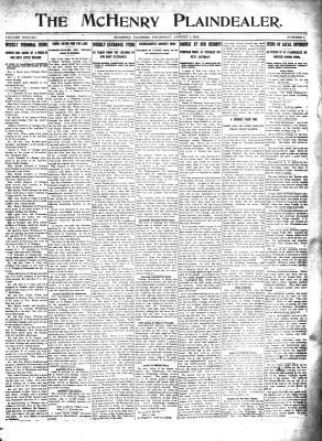 McHenry Plaindealer (McHenry, IL), 1 Aug 1912