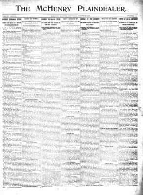 McHenry Plaindealer (McHenry, IL), 22 Aug 1912