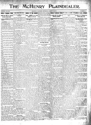 McHenry Plaindealer (McHenry, IL), 29 Aug 1912