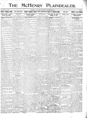 McHenry Plaindealer (McHenry, IL), 24 Oct 1912