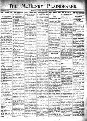 McHenry Plaindealer (McHenry, IL), 23 Jan 1913