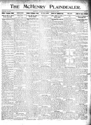 McHenry Plaindealer (McHenry, IL), 30 Jan 1913