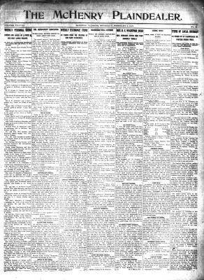 McHenry Plaindealer (McHenry, IL), 6 Feb 1913