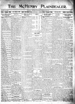 McHenry Plaindealer (McHenry, IL), 20 Feb 1913