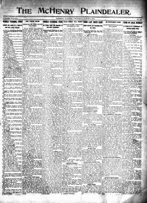 McHenry Plaindealer (McHenry, IL), 6 Mar 1913