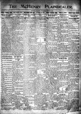 McHenry Plaindealer (McHenry, IL), 27 Mar 1913