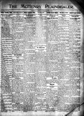 McHenry Plaindealer (McHenry, IL), 3 Apr 1913
