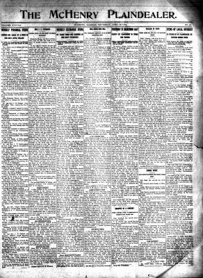 McHenry Plaindealer (McHenry, IL), 10 Apr 1913