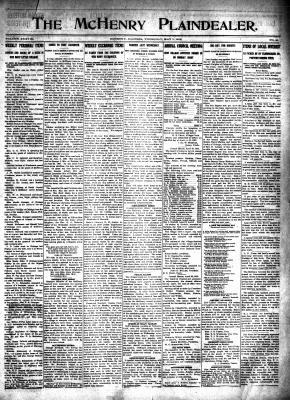 McHenry Plaindealer (McHenry, IL), 1 May 1913