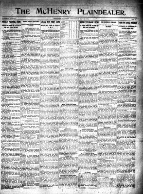 McHenry Plaindealer (McHenry, IL), 8 May 1913