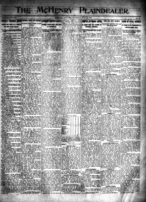 McHenry Plaindealer (McHenry, IL), 15 May 1913