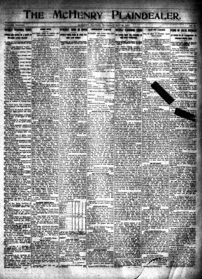 McHenry Plaindealer (McHenry, IL), 22 May 1913