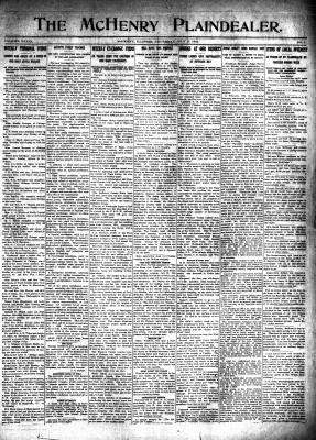 McHenry Plaindealer (McHenry, IL), 17 Jul 1913