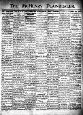 McHenry Plaindealer (McHenry, IL), 7 Aug 1913