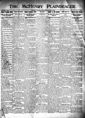 McHenry Plaindealer (McHenry, IL), 14 Aug 1913