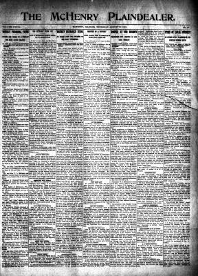 McHenry Plaindealer (McHenry, IL), 21 Aug 1913