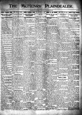 McHenry Plaindealer (McHenry, IL), 28 Aug 1913