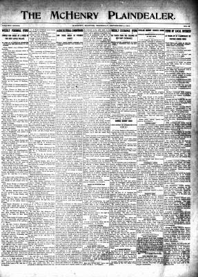 McHenry Plaindealer (McHenry, IL), 4 Sep 1913