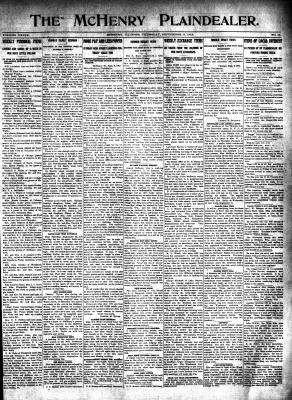 McHenry Plaindealer (McHenry, IL), 11 Sep 1913