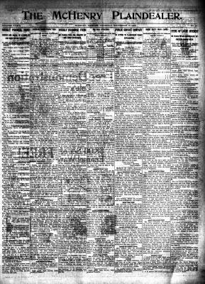 McHenry Plaindealer (McHenry, IL), 18 Sep 1913