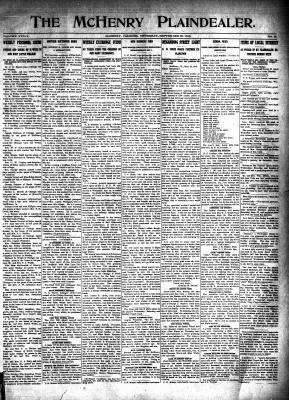 McHenry Plaindealer (McHenry, IL), 25 Sep 1913