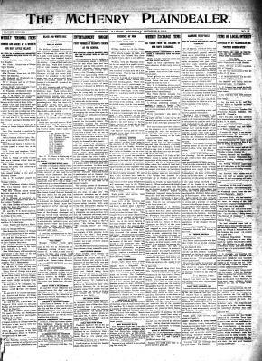 McHenry Plaindealer (McHenry, IL), 9 Oct 1913