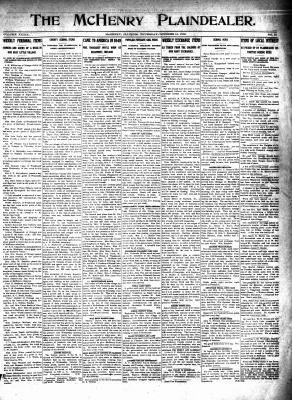 McHenry Plaindealer (McHenry, IL), 16 Oct 1913