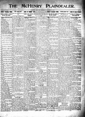 McHenry Plaindealer (McHenry, IL), 30 Oct 1913